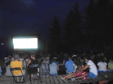 Plenerowe kino dla kilkuset osób!