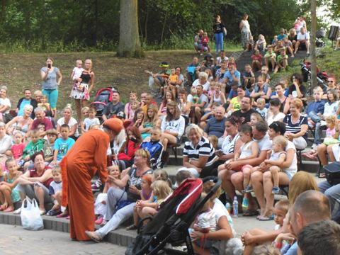 Amfiteatr wSkorzęcinie pełen dzieci!